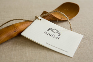 Mutlzi  handmade large mixing scoop spoon. Making the practice of life beautiful. www.multzi.com