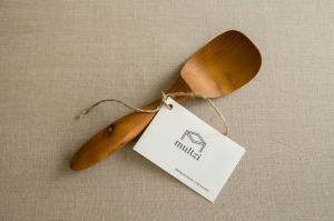 Mutlzi |handmade large mixing scoop spoon. Making the practice of life beautiful. www.multzi.com