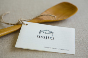 Mutlzi  handmade classic wood spoon. Making the practice of life beautiful. www.multzi.com