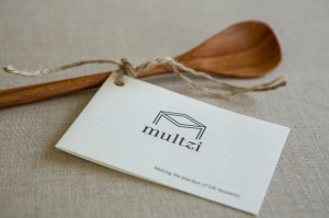 Multzi | handmade wood tall tasting spoon. Making the practice of life beautiful. www.multzi.com