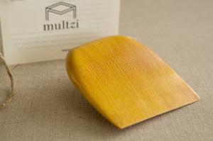 Multzi | handmade wood scraper. Making the practice of life beautiful.