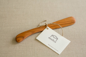 Multzi | handmade wood stir spatula. Making the practice of life beautiful. www.multzi.com